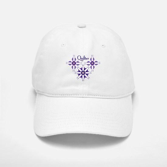 Quilted Violet Baseball Baseball Cap