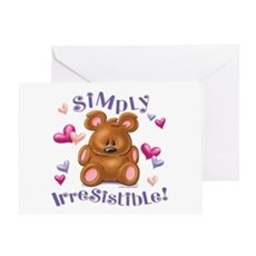 Simply Irresistible! Greeting Card