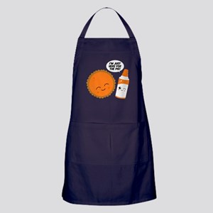 Here For The Pie Apron (dark)