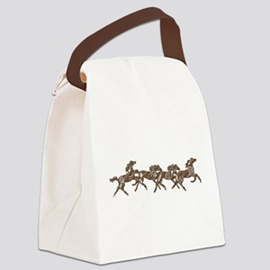 Stone Ponies Canvas Lunch Bag