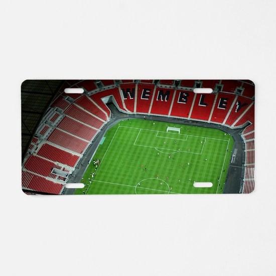 Wembley Stadium Aluminum License Plate