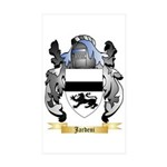 Jardeni Sticker (Rectangle 50 pk)