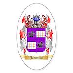 Jaramillo Sticker (Oval 50 pk)