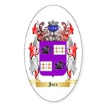 Jara Sticker (Oval 50 pk)