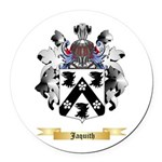 Jaquith Round Car Magnet