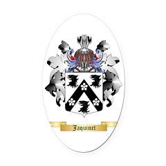 Jaquinet Oval Car Magnet