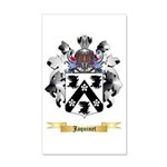 Jaquinet 20x12 Wall Decal