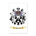 Jaquinet 35x21 Wall Decal