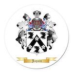 Jaquin Round Car Magnet