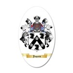 Jaquin 35x21 Oval Wall Decal