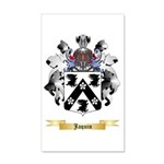 Jaquin 20x12 Wall Decal