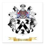 Jaquenod Square Car Magnet 3