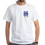 Jaqueminot White T-Shirt
