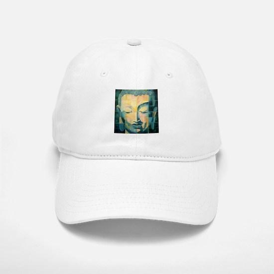 Tiled Buddha Baseball Baseball Cap