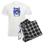 Jaqueminet Men's Light Pajamas