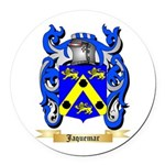 Jaquemar Round Car Magnet