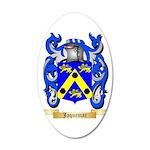 Jaquemar 35x21 Oval Wall Decal