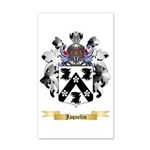 Jaquelin 35x21 Wall Decal