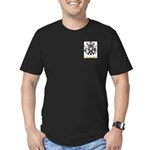 Jaquel Men's Fitted T-Shirt (dark)