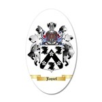 Jaquel 35x21 Oval Wall Decal
