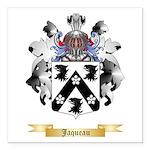 Jaqueau Square Car Magnet 3