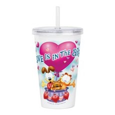 Love Is In The Air Acrylic Double-Wall Tumbler