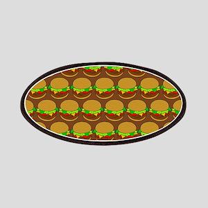 Fun Yummy Hamburger Pattern Patches