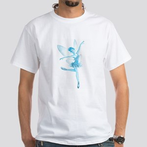 Tinkerbell (blue) White T-Shirt