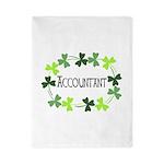 Accountant Shamrock Oval Twin Duvet