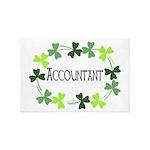 Accountant Shamrock Oval 4' x 6' Rug
