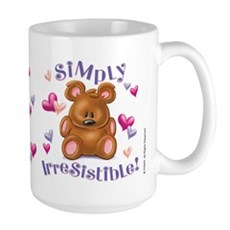 Simply Irresistible! Large Mug