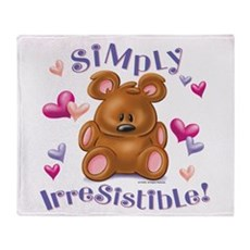 Simply Irresistible! Throw Blanket