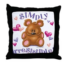 Simply Irresistible! Throw Pillow