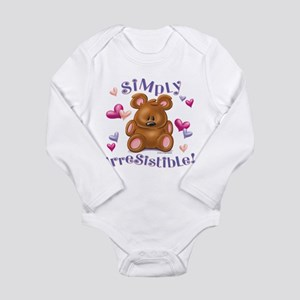 Simply Irresistible! Long Sleeve Infant Bodysuit