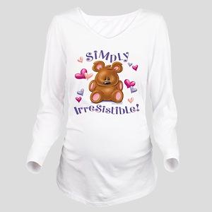 Simply Irresistible! Long Sleeve Maternity T-Shirt