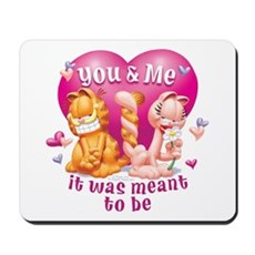 You and Me Mousepad