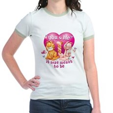 You and Me Jr. Ringer T-Shirt