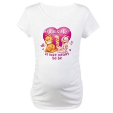 You and Me Maternity T-Shirt