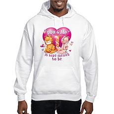 You and Me Hooded Sweatshirt