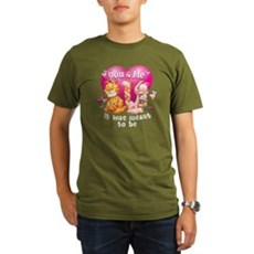 You and Me Organic Men's T-Shirt (dark)