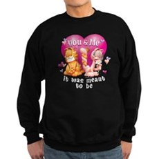 You and Me Sweatshirt (dark)