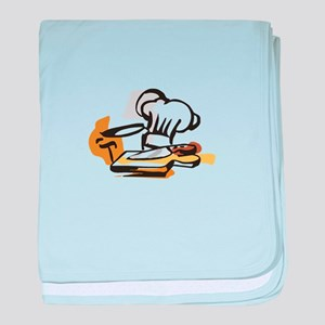 CHEF MONTAGE baby blanket