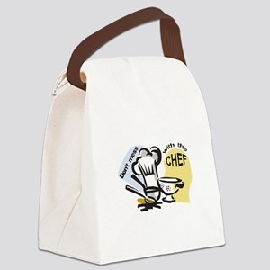 DONT MESS WITH THE CHEF Canvas Lunch Bag