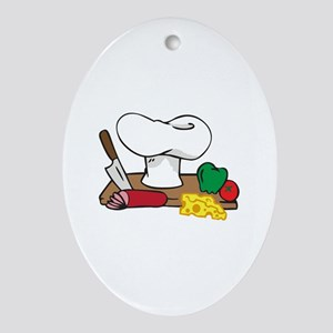 CHEFS TABLE Ornament (Oval)