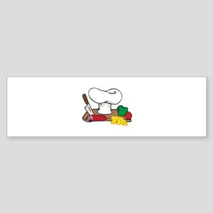 CHEFS TABLE Bumper Sticker