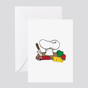 CHEFS TABLE Greeting Cards