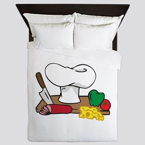 CHEFS TABLE Queen Duvet