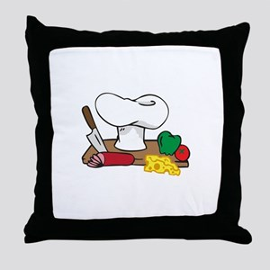 CHEFS TABLE Throw Pillow