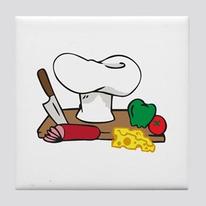 CHEFS TABLE Tile Coaster