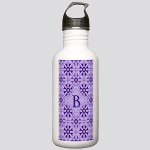 Quilted Violet Stainless Water Bottle 1.0L